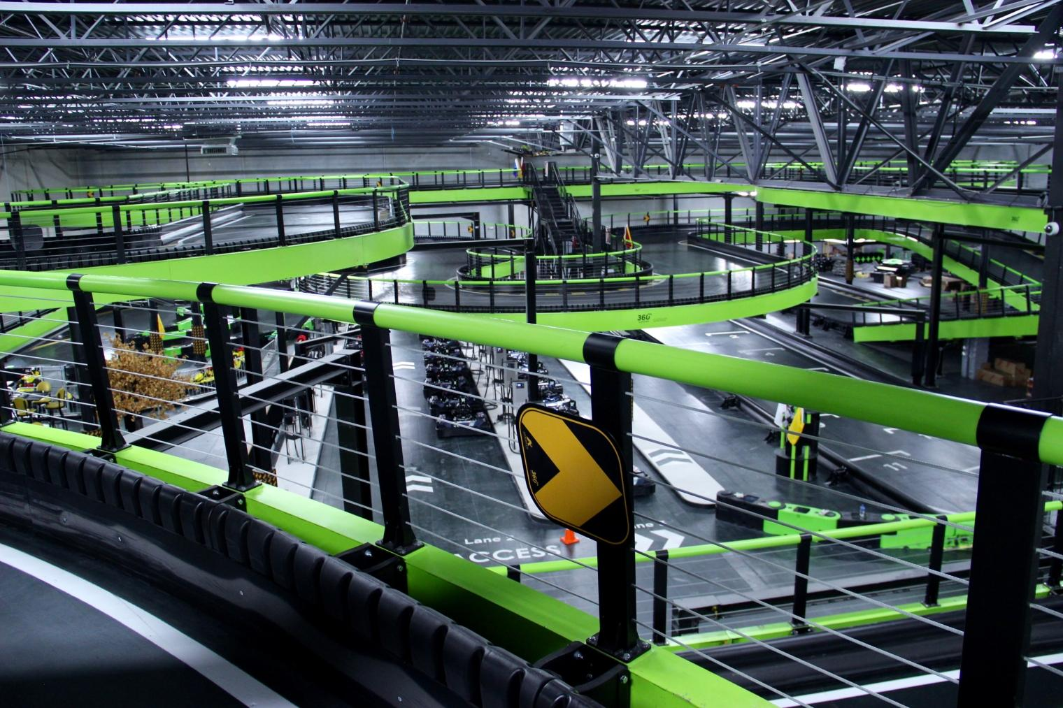 Andretti Indoor Karting Amp Games Launched New 360 Karting